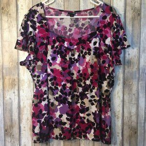East 5th Floral Top
